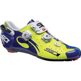 Sidi Wire Carbon M - Yellow Fluo/Blue