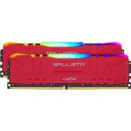 Crucial Ballistix Red RGB LED DDR4 3600MHz 2x32GB (BL2K32G36C16U4RL)