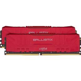 Crucial Ballistix Red DDR4 2666MHz 2x8GB (BL2K8G26C16U4R)