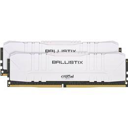 Crucial Ballistix White DDR4 3000MHz 2x8GB (BL2K8G30C15U4W)
