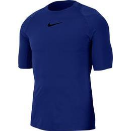 Nike Pro AeroAdapt Short-Sleeve Top Men - Deep Royal Blue