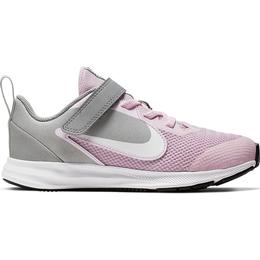 Nike Downshifter 9 PSV - Pink Foam/Metallic Silver/Pure Platinum/White