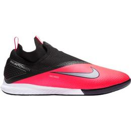 Nike React Phantom Vision 2 Pro Dynamic Fit IC M - Laser Crimson/Black/Metallic Silver