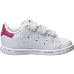 Adidas Infant Stan Smith 3 Straps - Footwear White/Footwear White/Bold Pink