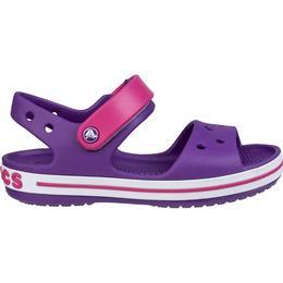 Crocs Kid's Crocband Sandal - Amethyst/Pink