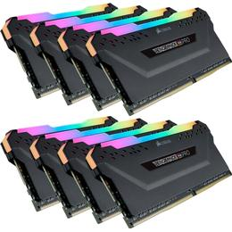Corsair Vengeance Black RGB LED Pro DDR4 3000MHz 8X32GB (CMW256GX4M8D3000C16)