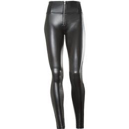 Freddy WR.UP High Waist Eco Leather - Black