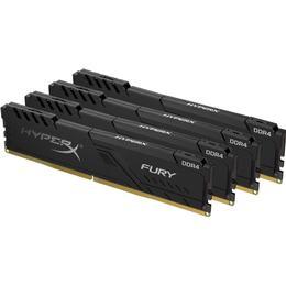 Kingston HyperX Fury Black DDR4 2666MHz 4x4GB (HX426C16FB3K4/16)