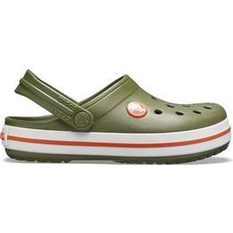 Crocs Kid's Crocband - Army Green/Burnt Sienna