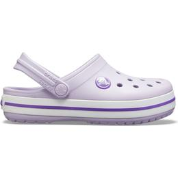Crocs Kid's Crocband - Lavender/Neon Purple