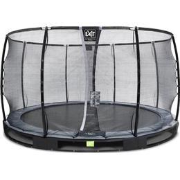 Exit Elegant Ground Trampoline 366cm + Economy Safety Net