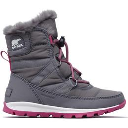Sorel Youth Whitney Short Lace - Quarry/Ultra Pink