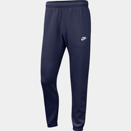 Nike Club Fleece Pants Men - Midnight Navy/White