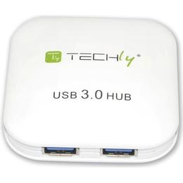 Techly IUSB3-HUB4-WH