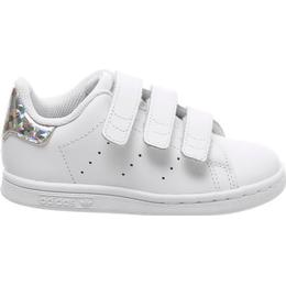 Adidas Infant Stan Smith 3 Straps - Cloud White/Cloud White/Core Black