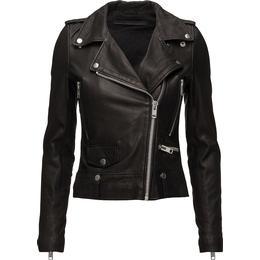 Munderingskompagniet Seattle Leather Jacket - Black