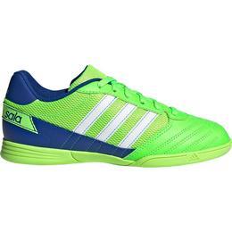 Adidas Junior Super Sala - Solar Green/Cloud White/Team Royal Blue
