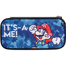 PDP Nintendo Switch Slim Travel Case - Mario Camo Edition