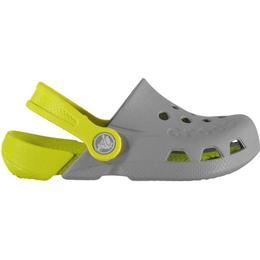 Crocs Kid's Electro - Light Grey/Citrus