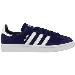 Adidas Junior Campus - Dark Blue/Footwear White/Footwear White