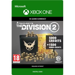 Ubisoft Tom Clancy's The Division 2 - 6500 Premium Credits - Xbox One
