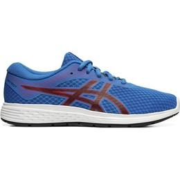 Asics Patriot 11 GS - Electric Blue/Speed Red