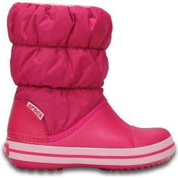 Crocs Kid's Winter Puff Boot - Candy Pink