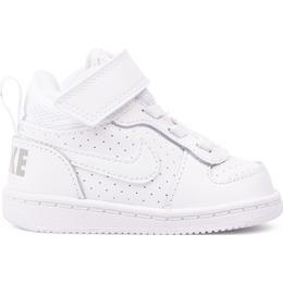 Nike Court Borough Mid TDV - White