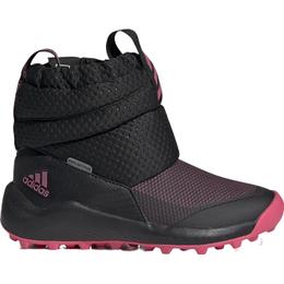 Adidas Kid's Rapidasnow - Core Black/Real Pink/Cloud White