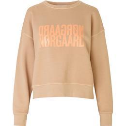 Mads Nørgaard Tilvina Organic Sweatshirt - Apricot