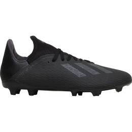 Adidas Junior X 19.3 FG - Core Black/Utility Black/Silver Met