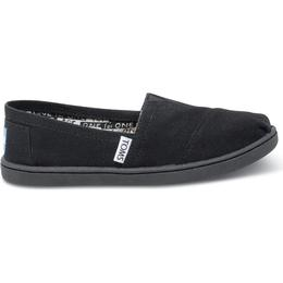 Toms Youth Classics Canvas - Black