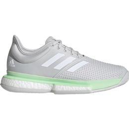 Adidas SoleCourt W - Glow Green/Cloud White/Grey One