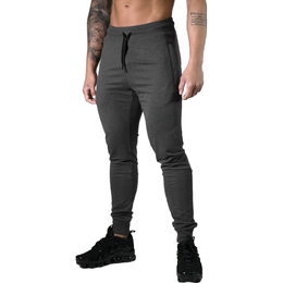 Better Bodies Tapered Joggers V2 Men - Dark Grey Melange