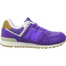 New Balance 574 Leather Mesh - Dahlia Purple/Deep Purple