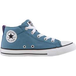 Converse Junior Chuck Taylor All Star Mid Street - Blue