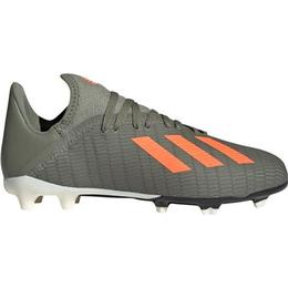 Adidas Junior X 19.3 FG - Legacy Green/Solar Orange/Chalk White