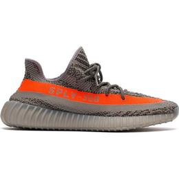 Adidas Yeezy Boost 350 V2 - Steel Grey/Beluga/Solar Red
