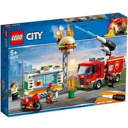 Lego City Brand på burgerbaren 60214