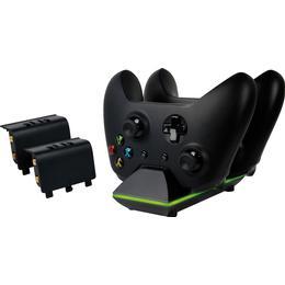 Piranha Xbox One Dual Charger - Black