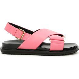 Marni Fussbett Flat - Pink