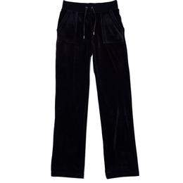 Juicy Couture Del Ray Classic Velour Pant - Black