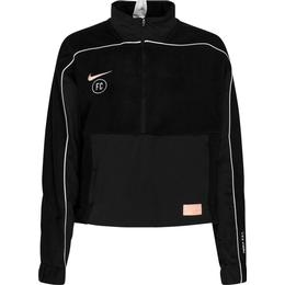 Nike FC Midlayer Dry 1/2 Zip Top Women - Black/White