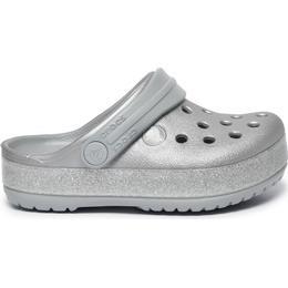 Crocs Kid's Crocband Glitter - Silver