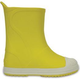 Crocs Bump It Boot - Yellow/Oyster