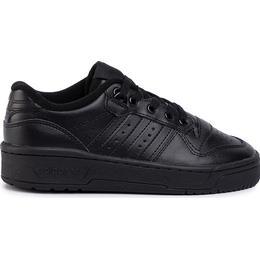 Adidas Junior Rivalry Low - Core Black/Core Black/Cloud White