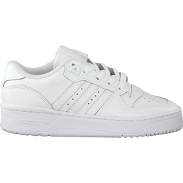 Adidas Junior Rivalry Low - Cloud White/Cloud White/Core Black