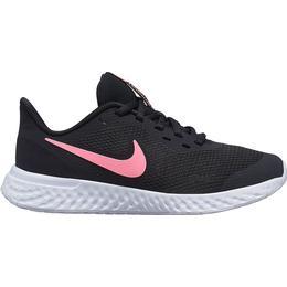 Nike Revolution 5 GS - Black/Sunset Pulse