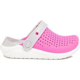 Crocs Kid's Literide Clog - Electric Pink/White