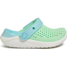Crocs Kid's Literide Clog - Neo Mint/White